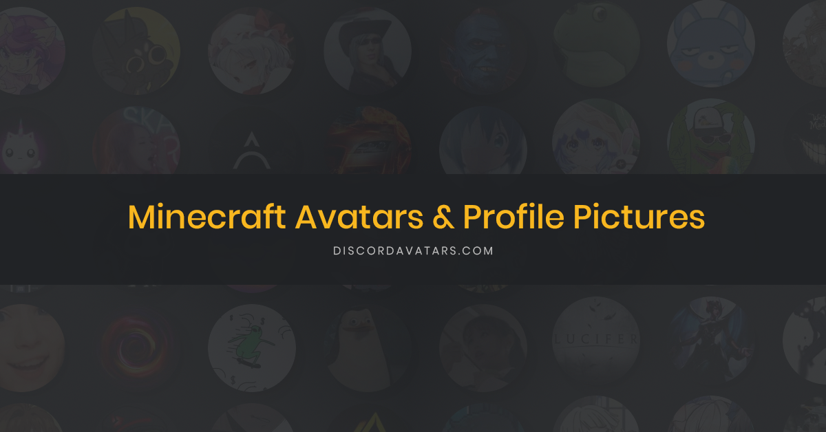47 Minecraft Avatars