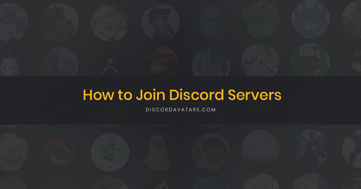 How to Join Discord Servers