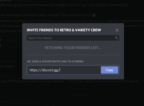 Join Discord Servers via Direct Message