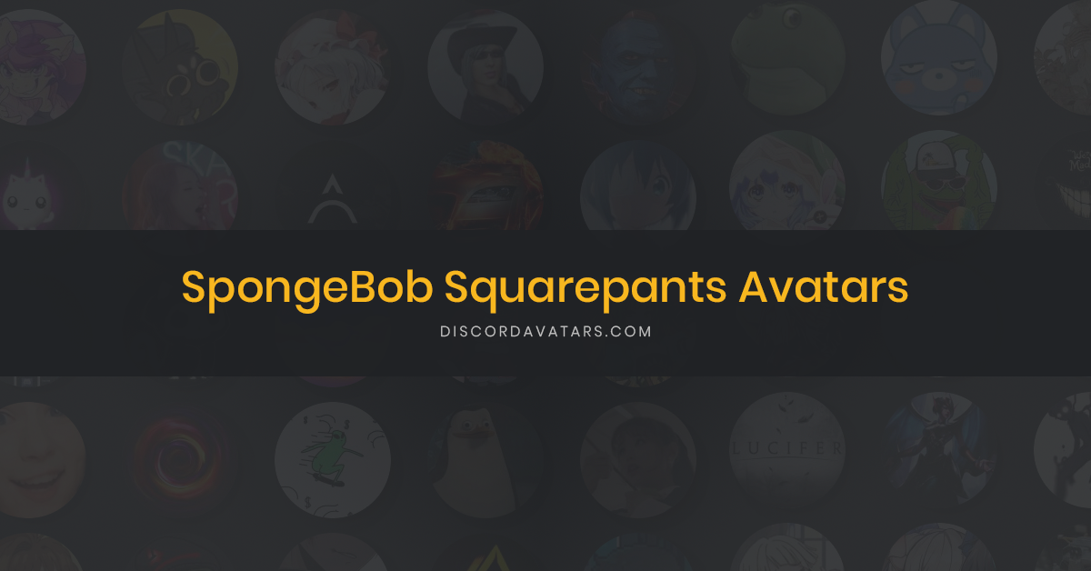 47 SpongeBob Squarepants Avatars